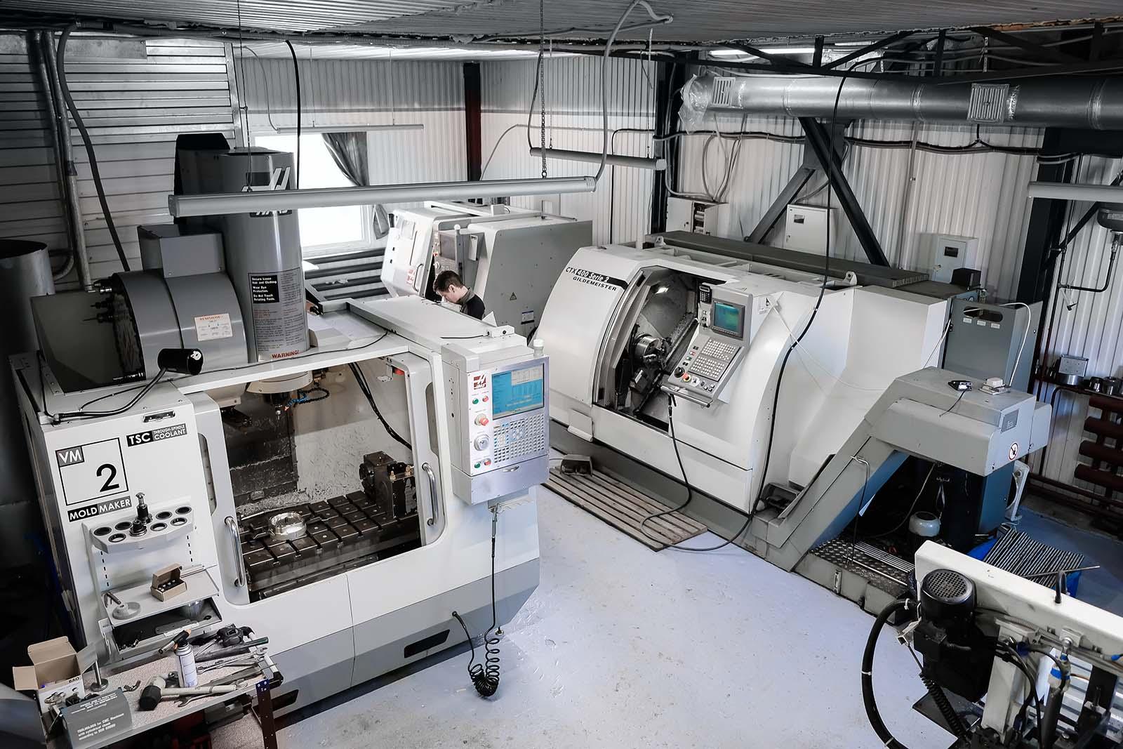 Przeglądy okresowe obrabiarek CNC