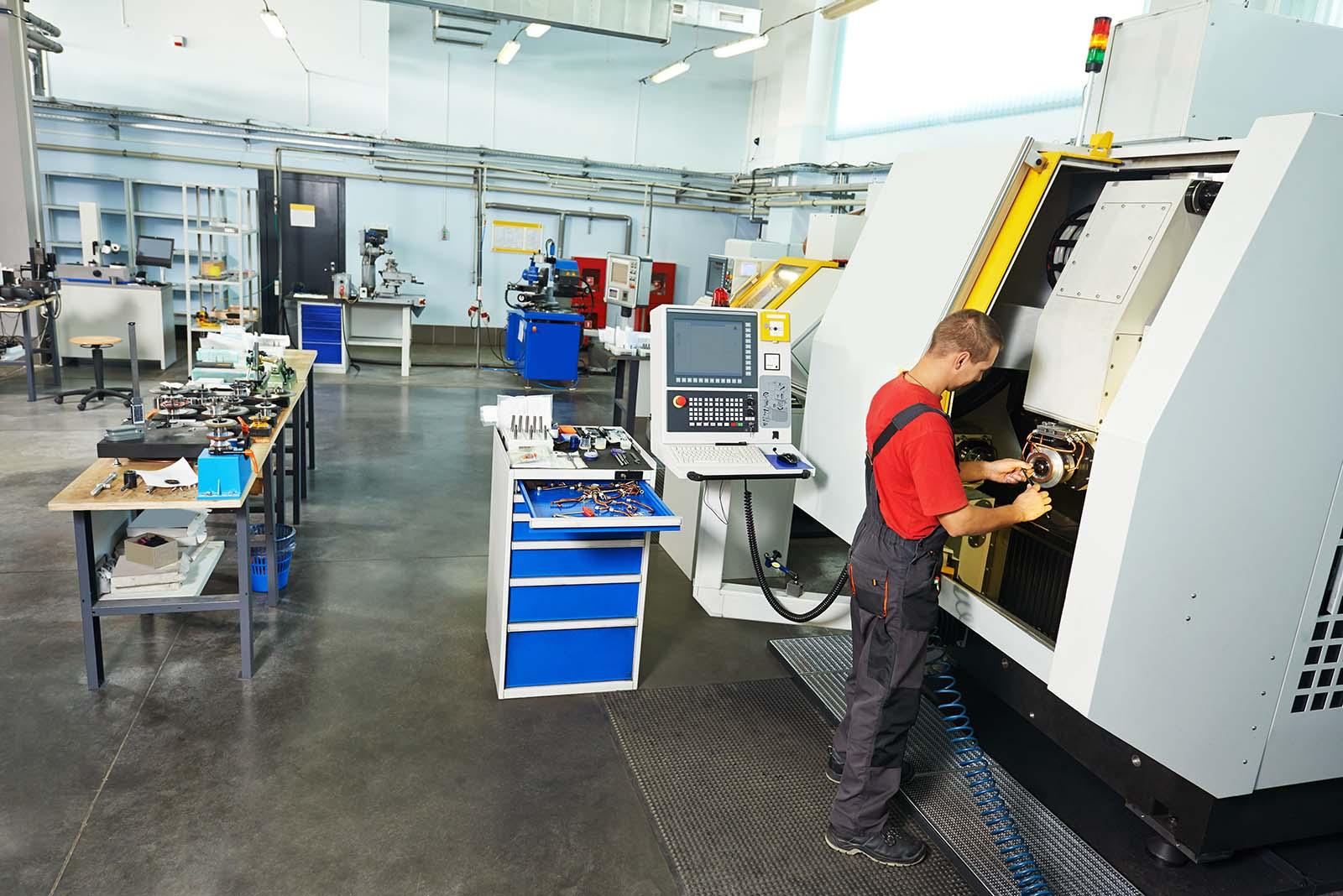 Kompleksowe usługi w zakresie naprawy, konserwacji i modernizacji obrabiarek